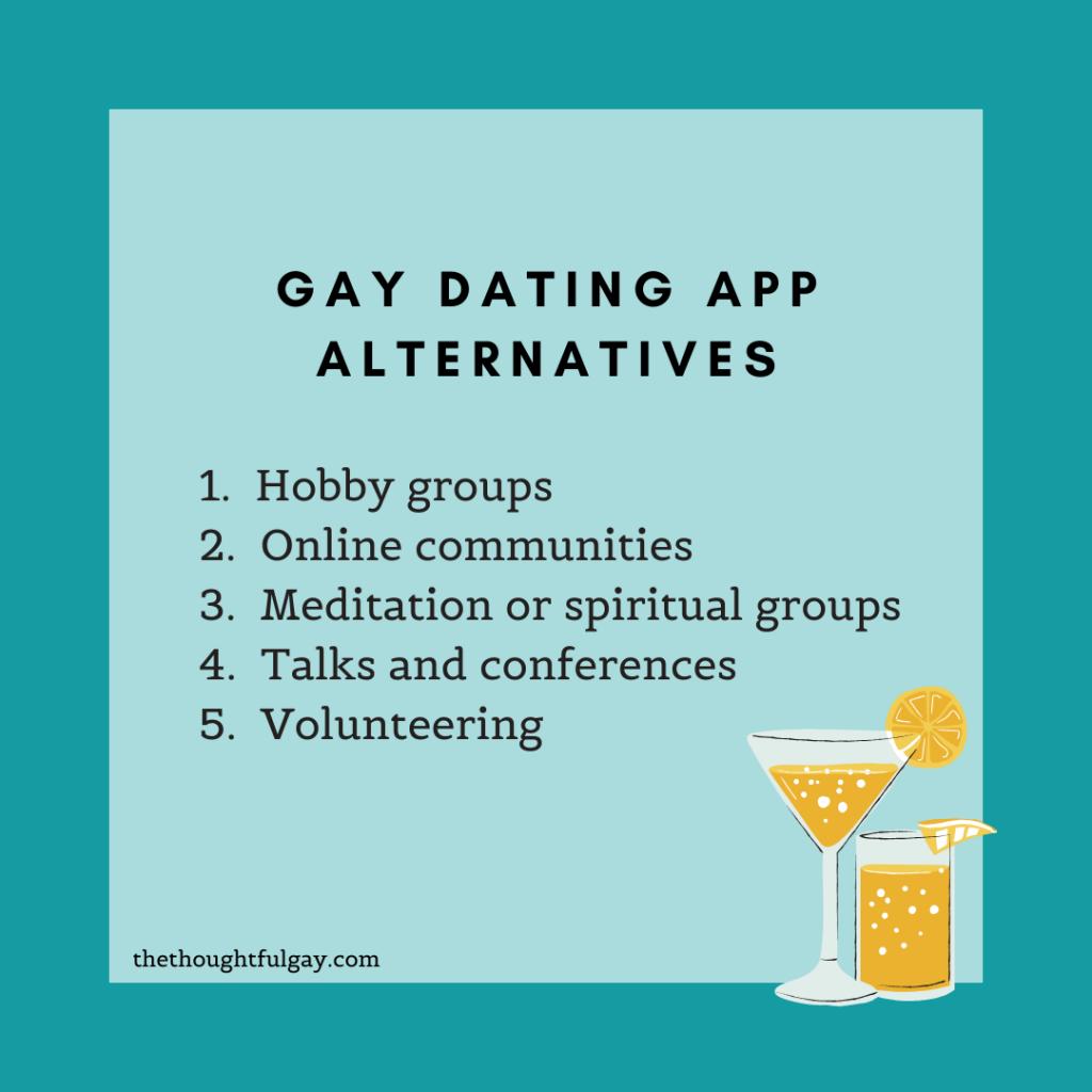 gay dating apps alternatives