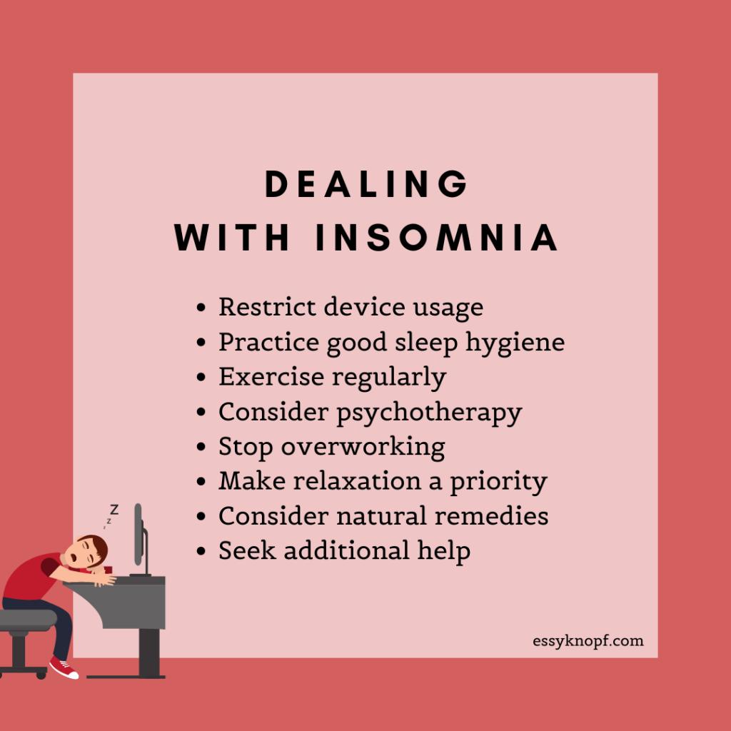 essy knopf treating insomnia