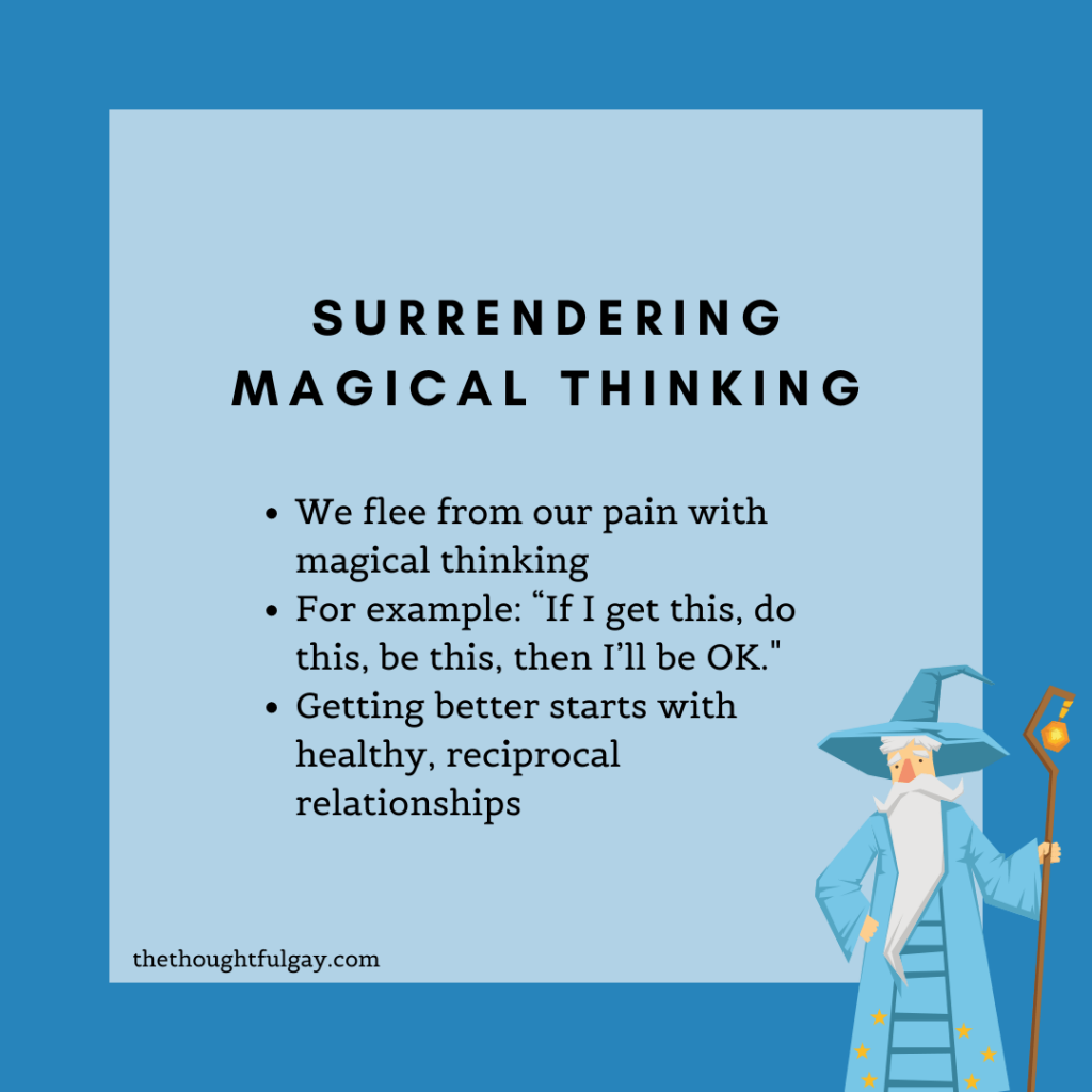 magical thinking the thoughtful gay