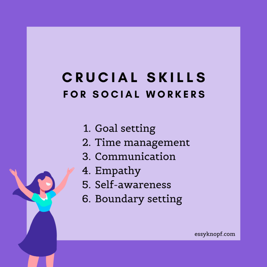 Essy Knopf fundamental skills social work career